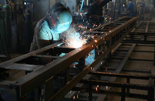 Welding Seafastenings