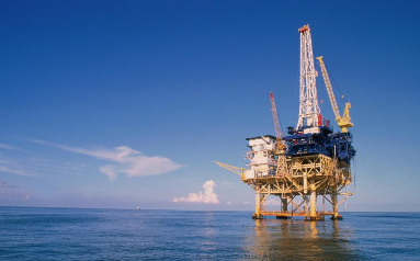 Drilling Platform with Multiple Cranes